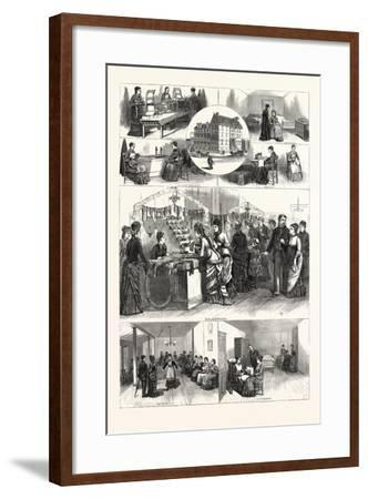 Pennsylvania: an Afternoon in the Industrial Home for Blind Women Philadelphia--Framed Giclee Print