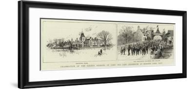 Celebration of the Golden Wedding of Lord and Lady Cranbrook at Hemsted Park, Kent--Framed Giclee Print