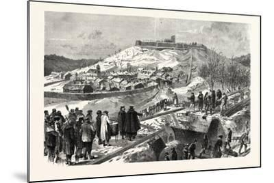 Franco-Prussian War: the City and the Fortress Montmedy, December 15 1870--Mounted Giclee Print