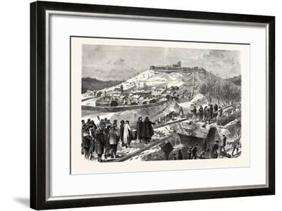 Franco-Prussian War: the City and the Fortress Montmedy, December 15 1870--Framed Giclee Print