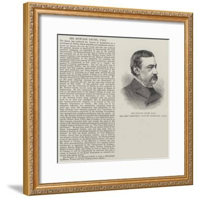 Sir Howard Grubb, Frs, the Great Astronomical Telescope Constructor, Dublin--Framed Giclee Print