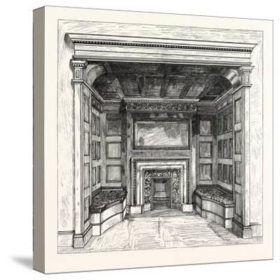 Morris and Co., Chimney Piece in the Ambassadors' Room, St. James's Palace, London, Uk--Stretched Canvas Print
