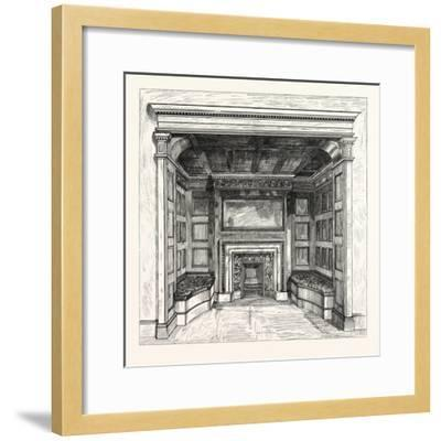 Morris and Co., Chimney Piece in the Ambassadors' Room, St. James's Palace, London, Uk--Framed Giclee Print