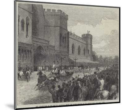 New Palace-Yard on the Day Mr Gladstone Moved the Second Reading of the Reform Bill--Mounted Giclee Print