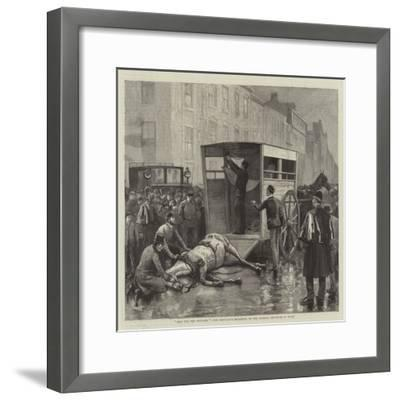 Help for the Wounded, the Ambulance Belonging to the Animals' Institute at Work--Framed Giclee Print