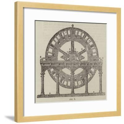 The Magneto-Electric Light at the South Foreland Lighthouse, Near Dover--Framed Giclee Print