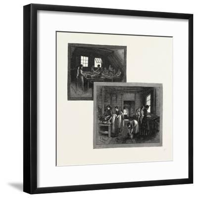 Prince Edward Island, Lobster Canning, Canada, Nineteenth Century--Framed Giclee Print
