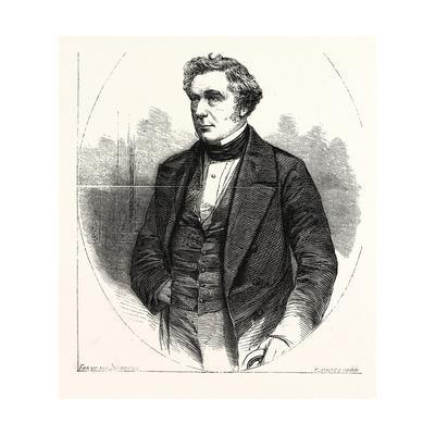 Robert Stephenson 16 October 1803 12 October 1859, Was an English Civil Engineer. Uk--Framed Giclee Print
