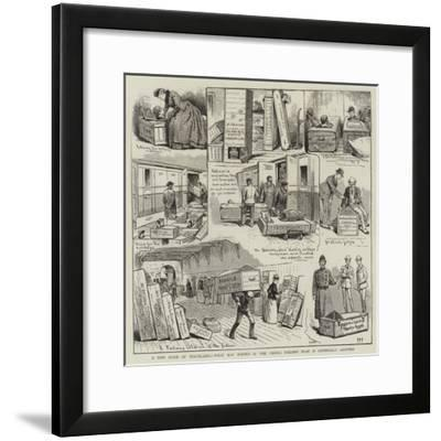 A New Mode of Travelling, What May Happen If the Vienna Tailor's Plan Is Generally Adopted--Framed Giclee Print
