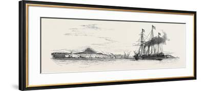 The Mail Packet from Alexandria, Off Marseilles, the Indian Mail on Board--Framed Giclee Print