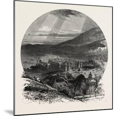Holyrood Palace, Edinburgh and the South Lowlands, Scotland,19th Century--Mounted Giclee Print