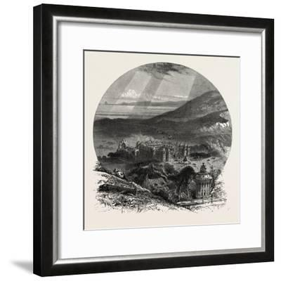 Holyrood Palace, Edinburgh and the South Lowlands, Scotland,19th Century--Framed Giclee Print