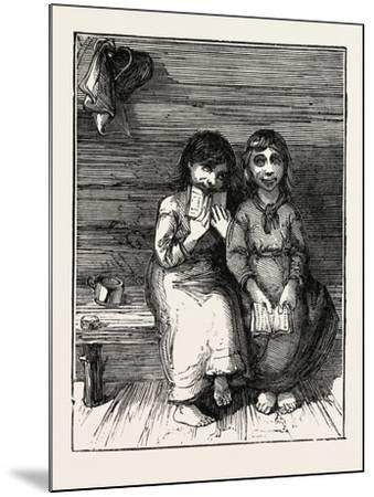 Character Sketches in North Carolina, United States of America: the Young Idea, USA, 1873--Mounted Giclee Print