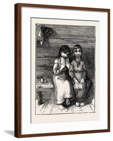 Character Sketches in North Carolina, United States of America: the Young Idea, USA, 1873--Framed Giclee Print