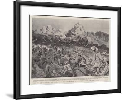 The War in Rhodesia, the Storming of the Stronghold of the Rebel Chief Babyaan in the Matoppo Hills--Framed Giclee Print