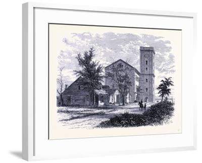 The Old Arsenal Rock Island Arsenal Island Black Hawk War United States of America--Framed Giclee Print