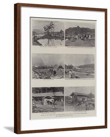 Scenes in the North East of Japan, Showing the Effect of the Recent Tidal Waves--Framed Giclee Print