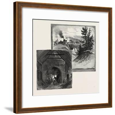 French Canadian Life, St. Maurice Forges, Canada, Nineteenth Century--Framed Giclee Print