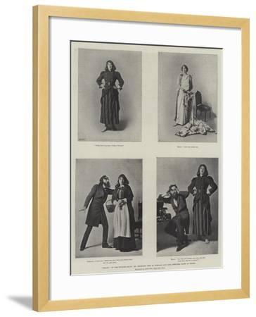 Trilby on the English Stage, Mr Beerbohm Tree as Svengali and Miss Dorothea Baird as Trilby--Framed Giclee Print