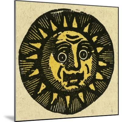 Illustration of English Tales Folk Tales and Ballads. the Face of the Sun--Mounted Giclee Print
