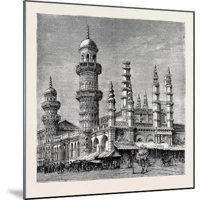 The Viceroy of India's Visit to Rangoon, British Burma: Mahomedan Mosque--Mounted Giclee Print