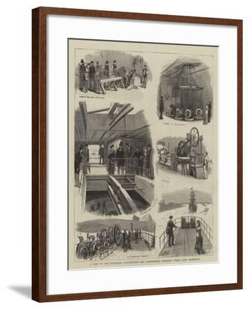 A Visit to the Telegraph Construction and Maintenance Company's Works, East Greenwich--Framed Giclee Print