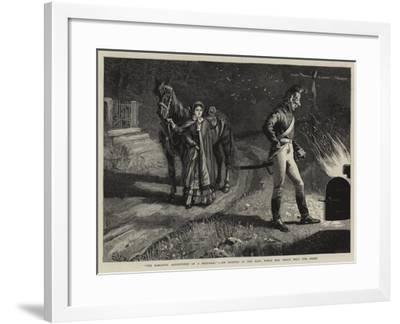The Romantic Adventures of a Milkmaid, Jim Stopped at the Kiln, While Mrs Peach Held the Horse--Framed Giclee Print