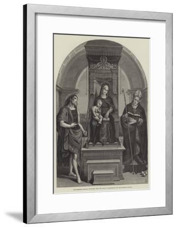 The Blenheim Raphael, Purchased from the Duke of Marlborough for the National Gallery--Framed Giclee Print