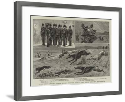 A Leaf from Constable Patrick Murphy's Note-Book after a Land League Hunt Near Ballynamuck--Framed Giclee Print