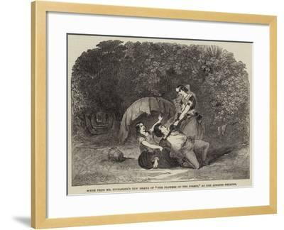 Scene from Mr Buckstone's New Drama of The Flowers of the Forest, at the Adelphi Theatre--Framed Giclee Print