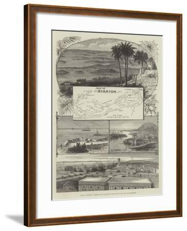 Views in Bermuda, Where the 2nd Battalion Grenadier Guards are Now Stationed--Framed Giclee Print