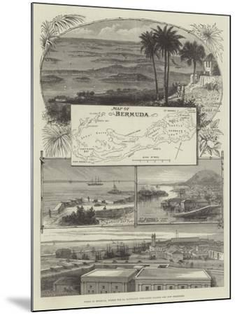 Views in Bermuda, Where the 2nd Battalion Grenadier Guards are Now Stationed--Mounted Giclee Print