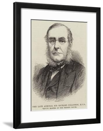 The Late Admiral Sir Richard Collinson, Kcb, Deputy Master of the Trinity House--Framed Giclee Print