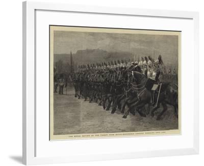 The Royal Review of the Troops from Egypt, Household Cavalry Wheeling into Line--Framed Giclee Print
