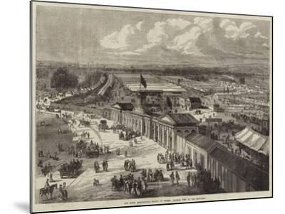 The Royal Agricultural Society at Oxford, General View of the Show-Yard--Mounted Giclee Print