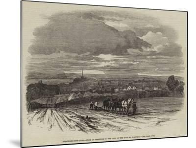Stratford-Upon-Avon, from an Eminence to the Left of the Road to Warwick--Mounted Giclee Print