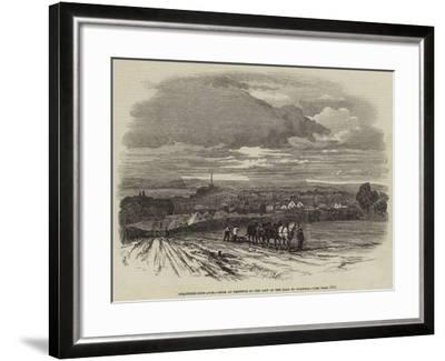 Stratford-Upon-Avon, from an Eminence to the Left of the Road to Warwick--Framed Giclee Print
