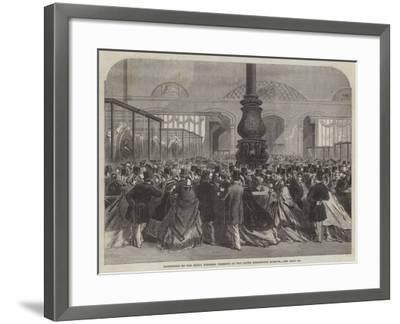 Exhibition of the Royal Wedding Presents at the South Kensington Museum--Framed Giclee Print