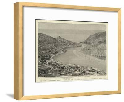 The Thirty-Seventh Anniversary of the Battle of Balaklava, 25 October 1854--Framed Giclee Print