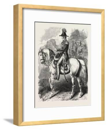 General Simpson, Commander of the British Army before Sebastopol. the Crimean War, 1855,--Framed Giclee Print