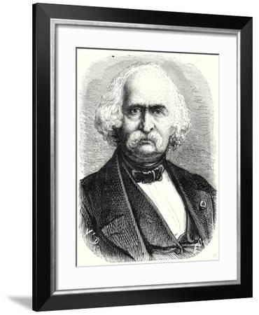 Auguste Perdonnet Director of the Central School of Arts and Manufacturing Between 1862 and 1867--Framed Giclee Print