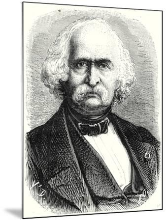 Auguste Perdonnet Director of the Central School of Arts and Manufacturing Between 1862 and 1867--Mounted Giclee Print