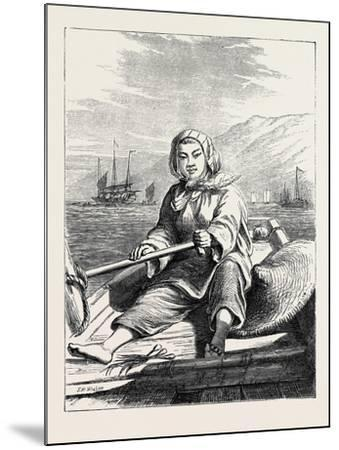 The Duke of Edinburgh's Collection at the South Kensington Museum, London: a Boat Girl at Canton--Mounted Giclee Print