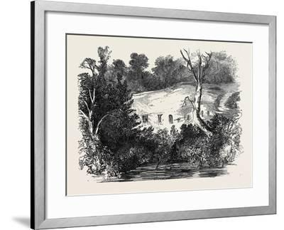 Meeting of the Archaeological Institute, at Newcastle Upon Tyne: the Hermitage, Warkworth--Framed Giclee Print