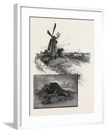 Niagara District, Old Fort Erie, and Windmill, Canada, Nineteenth Century--Framed Giclee Print