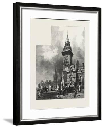 Ottawa, Tower of Eastern Block, Departmental Buildings, Canada, Nineteenth Century--Framed Giclee Print