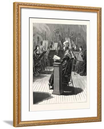 Pennsylvania: the Life Class in the Philadelphia School of Design for Women--Framed Giclee Print