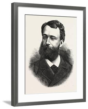Baron Boissy D'Anglas, Minister Plenipotentiary of France to Mexico, 1880 1881--Framed Giclee Print