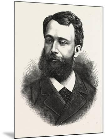 Baron Boissy D'Anglas, Minister Plenipotentiary of France to Mexico, 1880 1881--Mounted Giclee Print