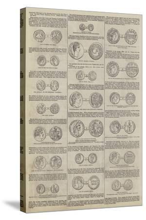 Numismatic Illustrations of the Narrative Portions of the New Testament, by John Yonge Akerman--Stretched Canvas Print
